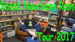 brand new official room tour 2017 entirely new game room 5k sub