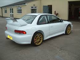 subaru gc8 widebody subaru impreza 22b fabrication metal rear quarter panel