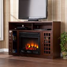 tv in middle of room interior brown wooden tv stand with storage also black f