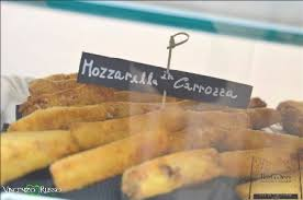 mozzarella in carrozza messinese ruggeri rosticceria messinese vittoria via cavour 184