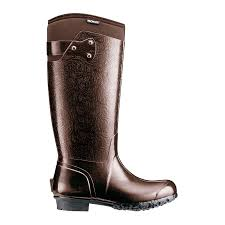 womens gumboots australia bogs rider embossed womens insulated wellingtons gumboots in