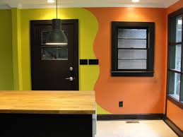 how we decided to connect the two colors kitchen and one wall of