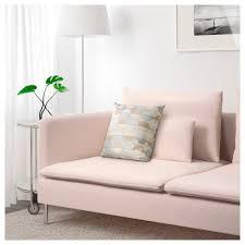 Pink Sofa Com Söderhamn 3 Seat Sofa Samsta Light Pink Ikea