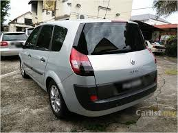 Renault Scenic 2005 Interior Renault Scenic 2005 1 6 In Penang Automatic Mpv Silver For Rm
