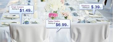 wedding tablecloth rentals city linen rentals rental linens rental chair covers wedding