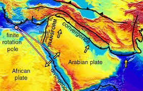 middle east earthquake zone map geology and end times prophecy