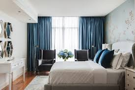 Curtains In The Bedroom Southbank Penthouse Transitional Bedroom Melbourne By