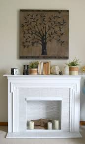 30 day flip secondhand fireplace redo u2022 our house now a home