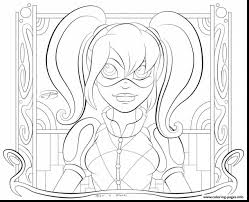 amazing harley quinn squad coloring pages with harley