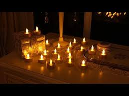 where to buy battery tea lights 20 battery powered flickering tea light candles fl 2053 go youtube