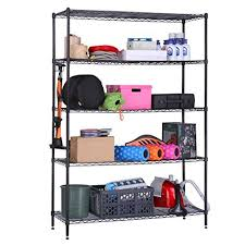Free Standing Storage Shelf Plans by Storage Rack And Shelves In Home Design Amazon Com