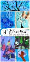 14 wonderful winter art projects for kids process art winter