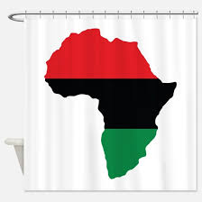 afrocentric shower curtains cafepress