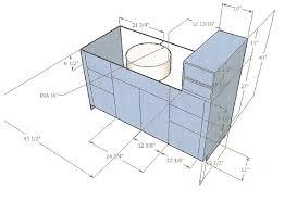 Bathroom Vanity Design Plans Completureco - Bathroom vanity cabinet designs