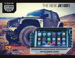 jeep audio insane audio jeep jk customizable android based entertainment and