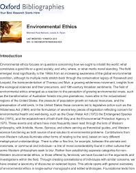 environmental ethics pdf download available