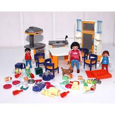 playmobile cuisine playmobil cuisine moderne play original