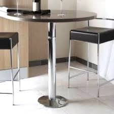 table haute ronde cuisine table haute ronde cuisine 12 avec pied de bar accessoires cuisines