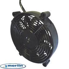 electric radiator fans hi flow electric radiator fan 12 inch diameter from merlin motorsport