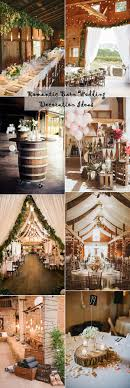 wedding decoration 25 sweet and rustic barn wedding decoration ideas