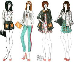 how to draw fashion sketches in few easy steps fashion design
