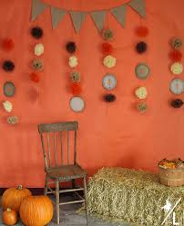a cowboy s thanksgiving themed photo booth
