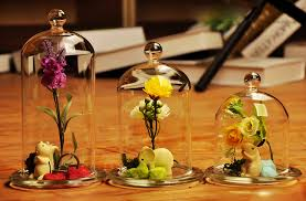 Flower Table L Top Grade Blown S M L Diy Table Flower Glass Cover
