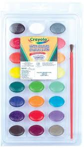 24 water colours washable walmart canada