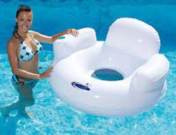 siege de piscine gonflable gonflable siege