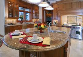 kitchen room design granite kitchen island dining table double