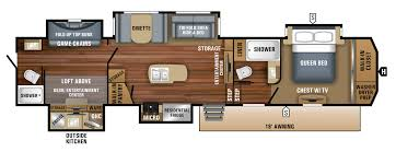 Toy Factory Lofts Floor Plans by 2018 North Point Luxury Fifth Wheel Floorplans U0026 Prices Jayco Inc