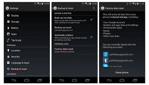how to reset android how to factory reset an android phone