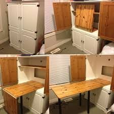 Folding Table With Chair Storage Inside 25 Unique Sewing Cabinet Ideas On Pinterest Craft Armoire