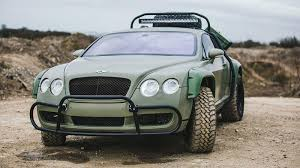 bentley forgiato custom dakar inspired off road bentley continental gt sold for r700k