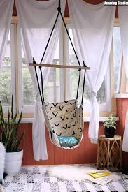 pattern for fabric hammock chair diy hammock chair youtube