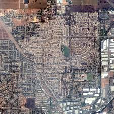 satellite images show 1 800 buildings destroyed fire santa