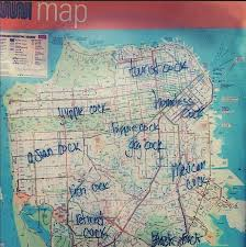 muni map s unabridged muni map of the castro other san francisco