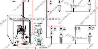 wiring diagram of home ups home wiring and electrical diagram