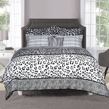 Zebra Print Single Duvet Set Animal Print Bedding