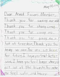 Thank You Letter Veterans best photos of letters to veterans thank you veteran letters from