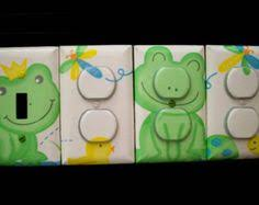 Frog Nursery Decor 3d Frog Dragonfly Pond Baby Nursery Decor 12x12