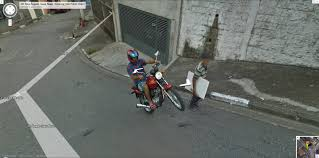 Mexico Google Maps by Google Maps Street View Brazil Captures A Guy Showing Off For The