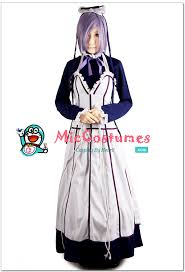 Black Butler Halloween Costumes Black Butler Hannah Cosplay Wig Sale