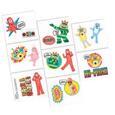 Yo Gabba Gabba Images by Yo Gabba Gabba Tattoos 16ct