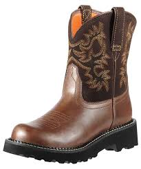 womens ariat fatbaby boots size 11 s fatbaby cowboy boots brown rebel brownie