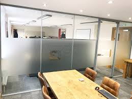 glass partitioning at royal ihc newcastle upon tyne double