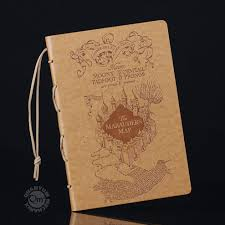 Harry Potter Marauders Map Harry Potter Marauder U0027s Map Journal U2013 Quantum Mechanix