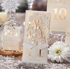 pop up wedding invitations wedding decoration 3d castle shape pop up wedding invitation card