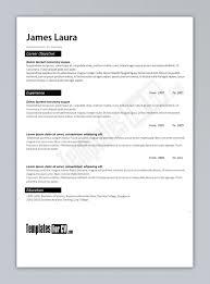 Word 2013 Resume Templates Format Resume Formatting Word