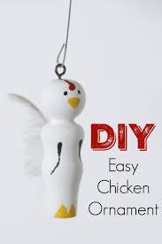 diy chicken ornament bustamante